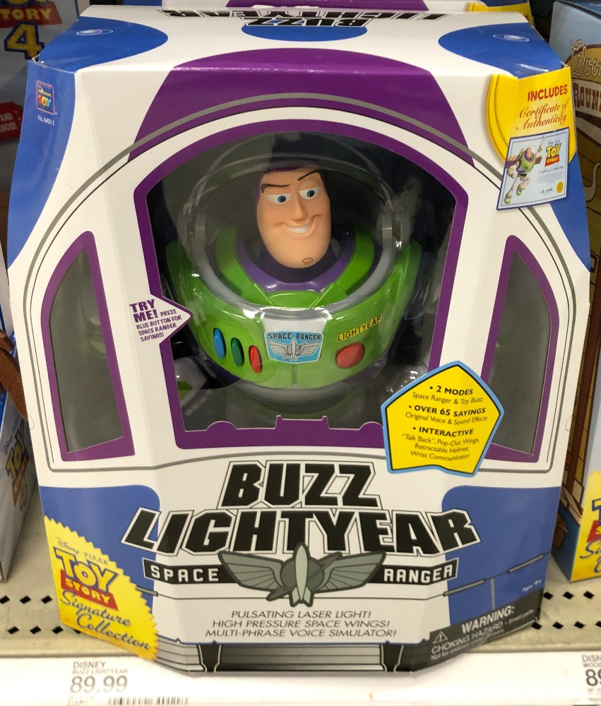 toy story 4 at target buzz