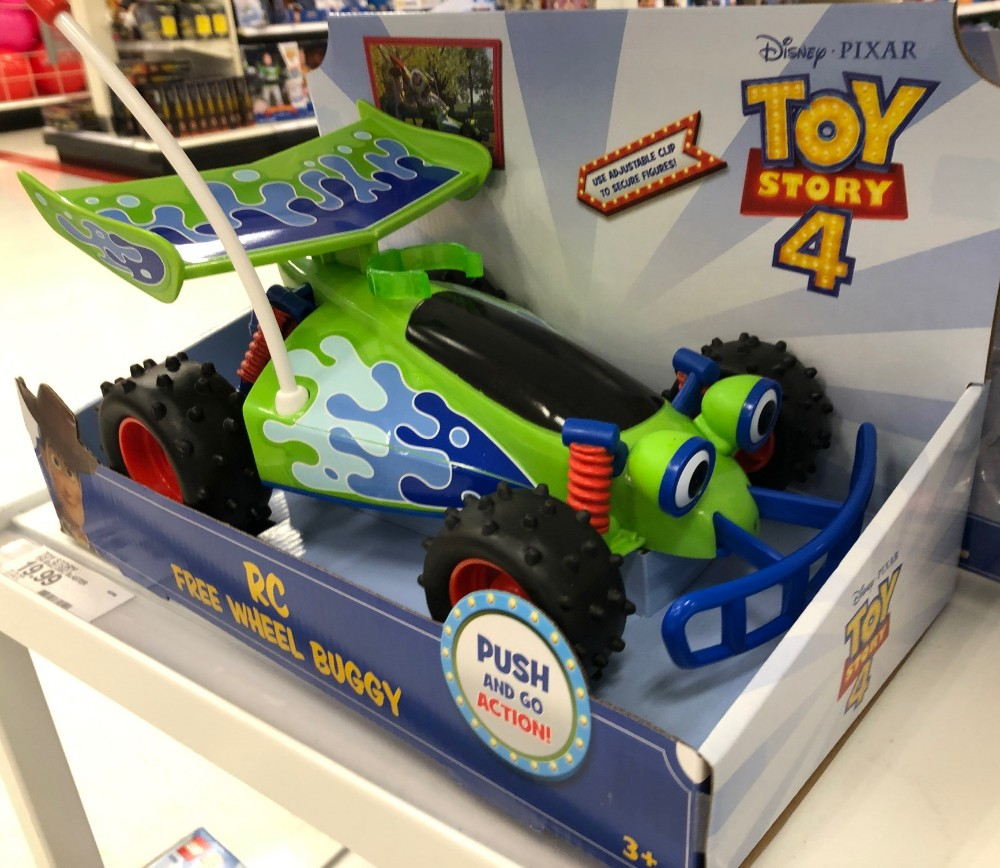 toy story 4 at target rc car
